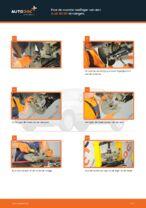 Wiellager vervangen AUDI 80: werkplaatshandboek