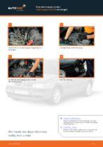 Hoe een bougie op een Volkswagen Golf III vervangen