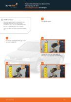 Hoe schokdempers van de voorste ophanging van een Volkswagen Golf III vervangen