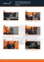 Hoe Draagarm wielophanging achter en vóór veranderen en installeren: gratis pdf handleiding