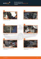 MAZDA-Werkstatthandbuch mit Abbildungen