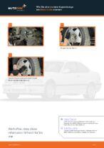 Wie Sie eine vordere Koppelstange am BMW 3 E36 ersetzen
