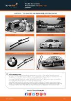 Wie Sie die vorderen Wischerblätter am BMW 3 E36 ersetzen