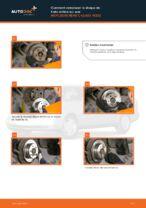 Remplacement Disque MERCEDES-BENZ C-CLASS : instructions pdf