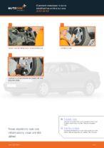 Comment remplacer la barre stabilisatrice arrière sur une AUDI A4 В5
