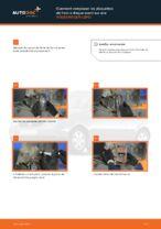 Montage Kit de plaquettes de frein VW LUPO (6X1, 6E1) - tutoriel pas à pas