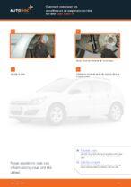Comment remplacer les amortisseurs de suspension arrière sur une Opel Astra H