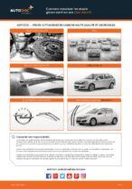 Comment remplacer les essuie-glaces avant sur une Opel Astra H