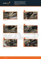 arrière et avant Bras de suspension OPEL ZAFIRA | PDF tutoriel de remplacement