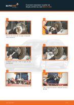 Changement Kit de roulement de roue arrière et avant BMW 5 SERIES : tutoriel en ligne