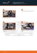 Comment changer Filtre climatisation TOYOTA PRIUS Hatchback (NHW20_) - manuel en ligne