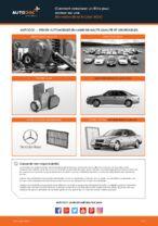 Manuel d'atelier Mercedes S210 pdf