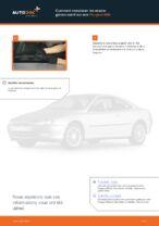 Comment remplacer les essuie-glaces avant sur une Peugeot 406
