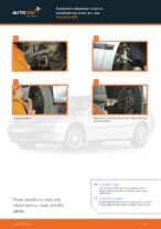 Changement Biellette De Barre Stabilisatrice PEUGEOT 406 : manuel d'atelier