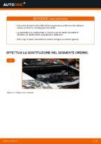 Come sostituire le molle della sospensione anteriore su Toyota Auris E15