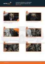 Changer Jeu de plaquettes de frein arrière et avant BMW à domicile - manuel pdf en ligne