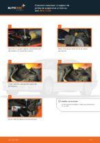 Comment remplacer le support de jambe de suspension arrière sur une BMW 3 E36