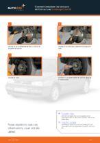 Comment remplacer les tambours de frein sur une Volkswagen Golf III