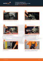 Comment remplacer les amortisseurs de suspension arrière sur une Volkswagen Golf III