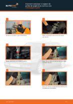 Comment remplacer le support de jambe de suspension avant sur une Volkswagen Golf III