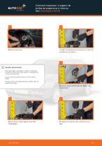 Comment remplacer le support de jambe de suspension arrière sur une Volkswagen Golf III