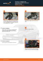Comment remplacer les mâchoires de frein à tambour arrière sur une Volkswagen Golf III
