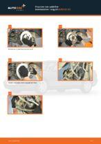 Hvordan man udskifter bremseskiver i bag på AUDI A4 В5
