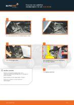Hvordan man udskifter støddæmpere i for på AUDI A4 В5