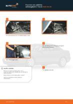 Hvordan man udskifter ophængsfjedre i for på AUDI A4 В5