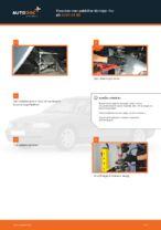 Hvordan man udskifter tårnleje i for på AUDI A4 В5