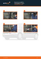 Hvordan skifter man og justere Spiralfjedre VW LUPO: pdf manual