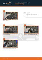 PDF udskiftnings manual: Hjulnav VW bag og foran