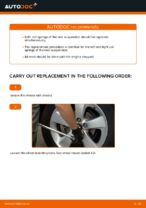 How to replace rear suspension springs on Toyota Auris E15