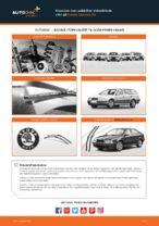 SKODA-reparationsmanualer med illustrationer