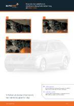 Hvordan man udskifter en stabilisator stang/forbindelse i bag på BMW 5 E60
