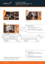 Udskiftning af Bremseklods bag og foran MERCEDES-BENZ gør det selv - online manualer pdf