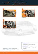 Hvordan skifter man og justere Stabilisatorarm MERCEDES-BENZ E-CLASS: pdf manual