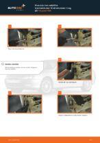 Udskiftning af Bremseklods bag og foran PEUGEOT gør det selv - online manualer pdf