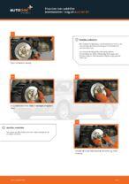 Hvordan man udskifter bremseskiver i bag på Audi A4 В7