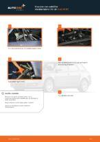 Hvordan man udskifter støddæmpere i for på Audi A4 В7