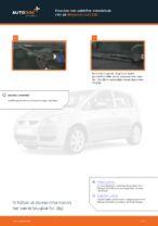 Online gratis instruktioner hvordan skifter man Vinduesvisker MITSUBISHI COLT VI (Z3_A, Z2_A)