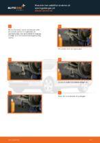 Hvordan man udskifter enderne på sporingsstangen på Skoda Octavia 1Z