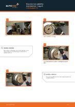 Hvordan man udskifter bremseskiver i bag på Volkswagen T5