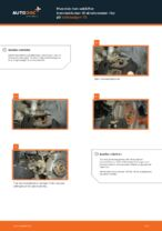 Hvordan man udskifter bremseklodser til skivebremser i for på Volkswagen T5