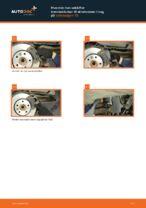 Hvordan man udskifter bremseklodser til skivebremer i bag på Volkswagen T5