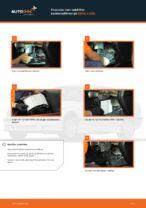 Hvordan man udskifter kabineluftfilter på BMW 3 E36