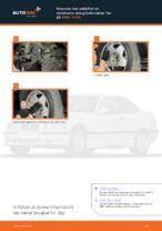 Hvordan man udskifter en stabilisator stang/forbindelse i for på BMW 3 E36