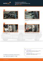 Hvordan man udskifter en stabilisator stang/forbindelse i bag på BMW 3 E36