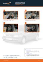 Bremser udskifter og reparationsmanual med illustrationer
