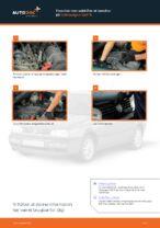 Hvordan man udskifter et tændrør på Volkswagen Golf III
